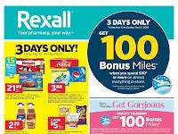 Rexall Flyer Week long savings valid May 24 - 30, 2019