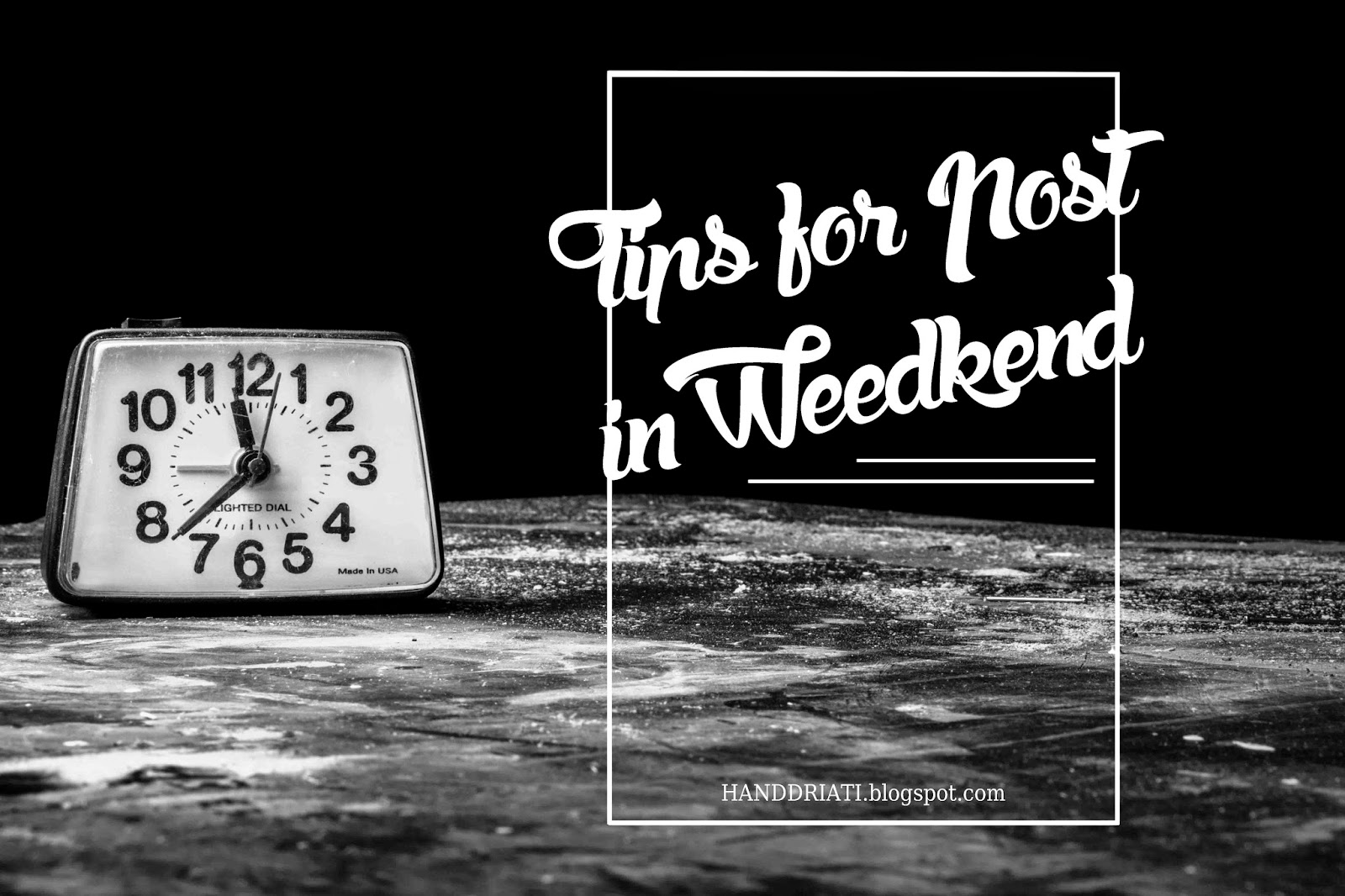 Tips for Posting in Weekend Cara Membuat Postingan Terjadwal di Blog