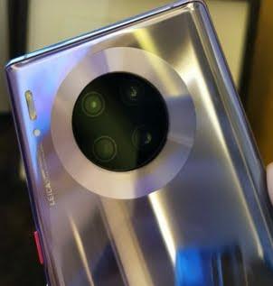 تفاصيل الكاميرات الأربع الموجودة في Huawei Mate 30 Pro