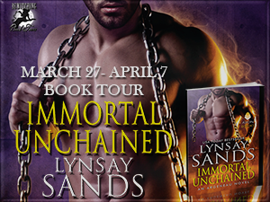 Immortal Unchained tour image