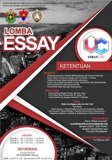 Lomba Essay URBAN CARE 2017