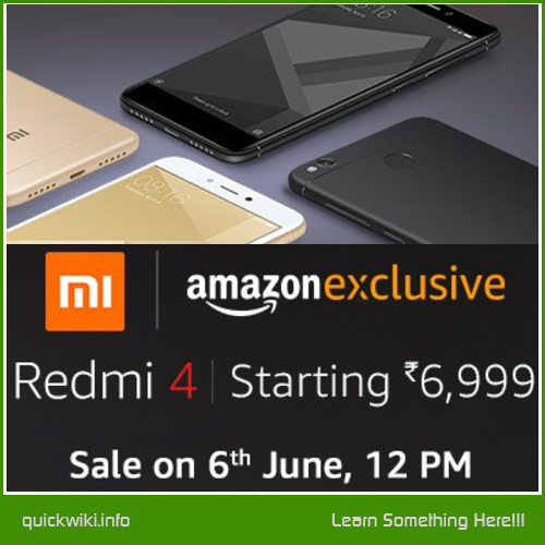 Redmi 4 Sale