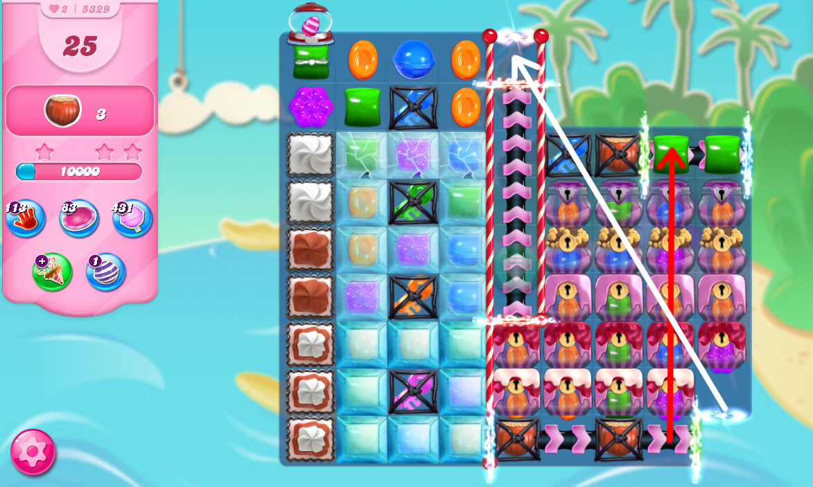 Candy Crush Saga level 5329