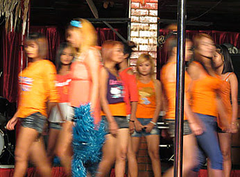Nightclub fashion show group
