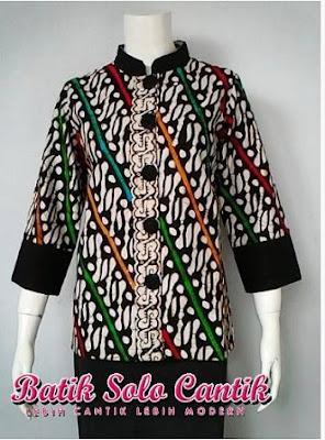 Batik Solo Cantik Diyanti Modern