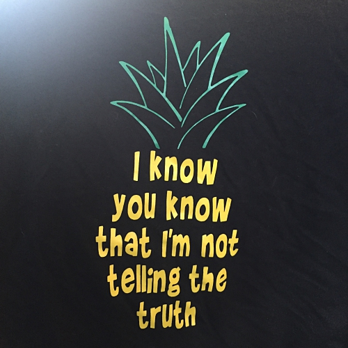 Psych pineapple lyrics