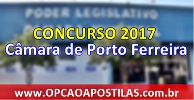 Concurso Câmara de Porto Ferreira 2017