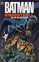 Portada de Batman Knight Fall