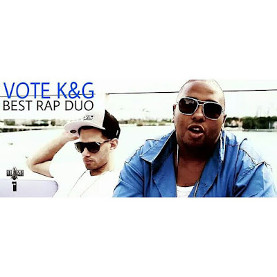 VOTE FOR K&G BEST RAP DUO AT 2015 UNDERGROUND MUSIC AWARDS