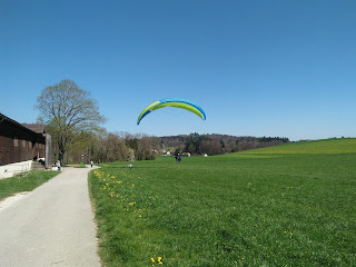 Gleitschirm Tandem Flug Solothurn