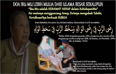 doa ibumu lebih mulia dari seorang ulama besar sekalipun