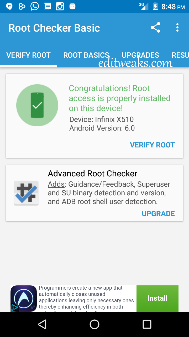hot to root android