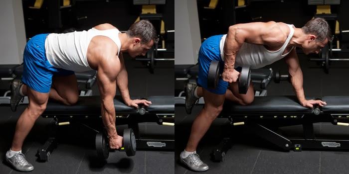تمارين عضلات الظهر للمبتدئين تمرين مرجحة المنشار