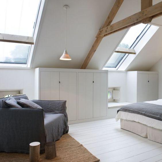 44 Ide Kreatif Memanfaatkan Ruang Di Bawah Atap Rumahku Unik