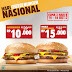 Promo Cheeseburger Burger King Rp 10 Ribu Dan Double Cheeseburger Rp 15 Ribu
