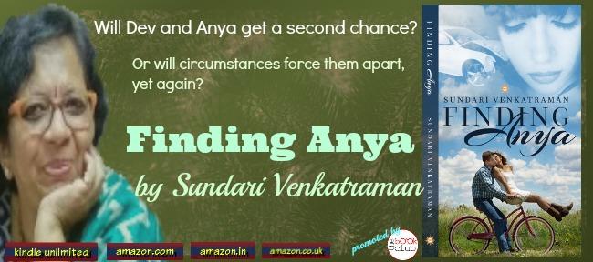 Book Blitz: Finding Anya by Sundari Venkatraman