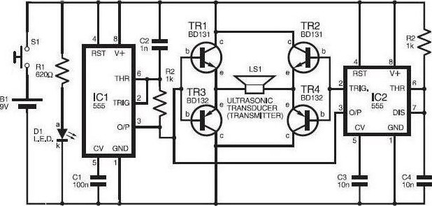 how to build bench amplifier circuit diagram