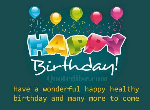 birthday wishes images and quotes