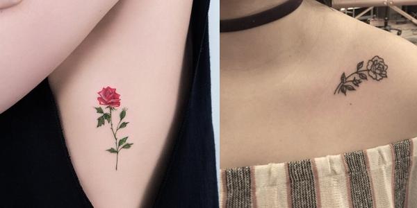 Mytattooland.com: Small Rose Tattoos