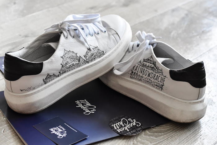 Customisation de baskets x Sneakers & Chill