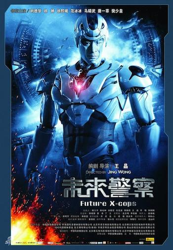 Future X-Cops 2010 Dual Audio Hindi 480p BluRay 300mb