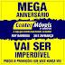 MEGA ANIVERSÁRIO: Center Móveis de Ruy Barbosa promete promoções imperdíveis no seu aniversário dia 28 e 29 de março