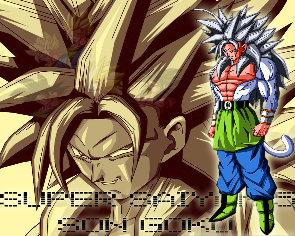 DRAGON BALL Z WALLPAPERS: Goku Super Saiyan 5