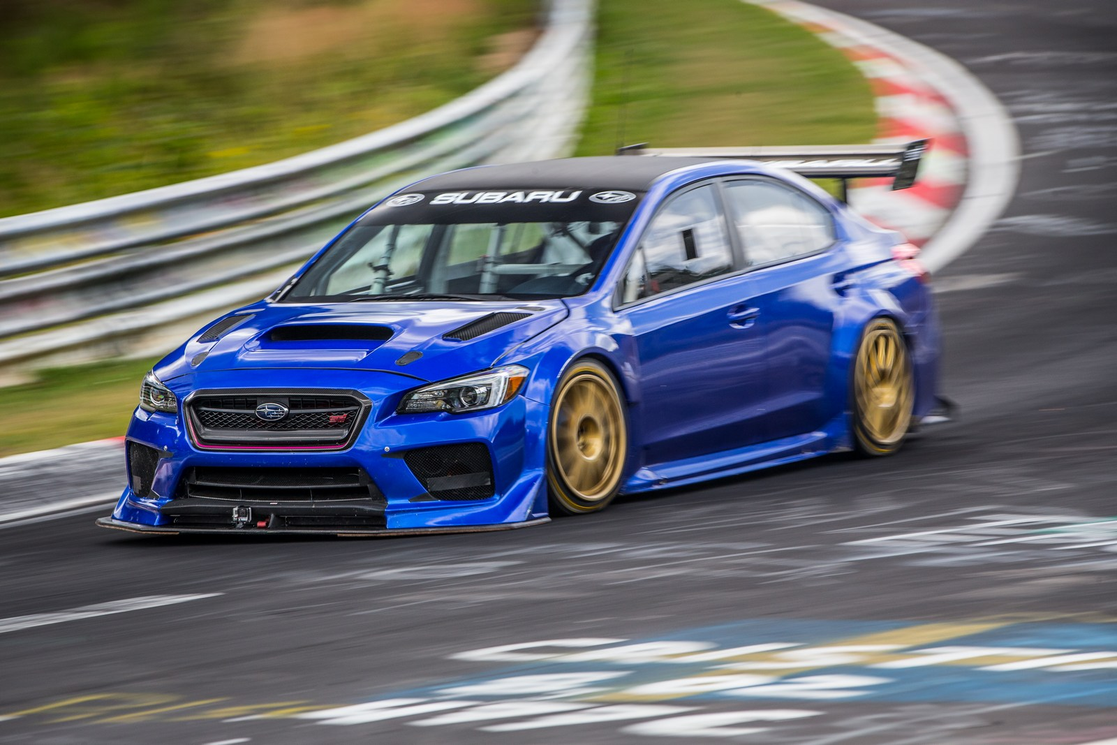 Subaru Sets A New Nurburgring Lap Record For Four Door Sedans