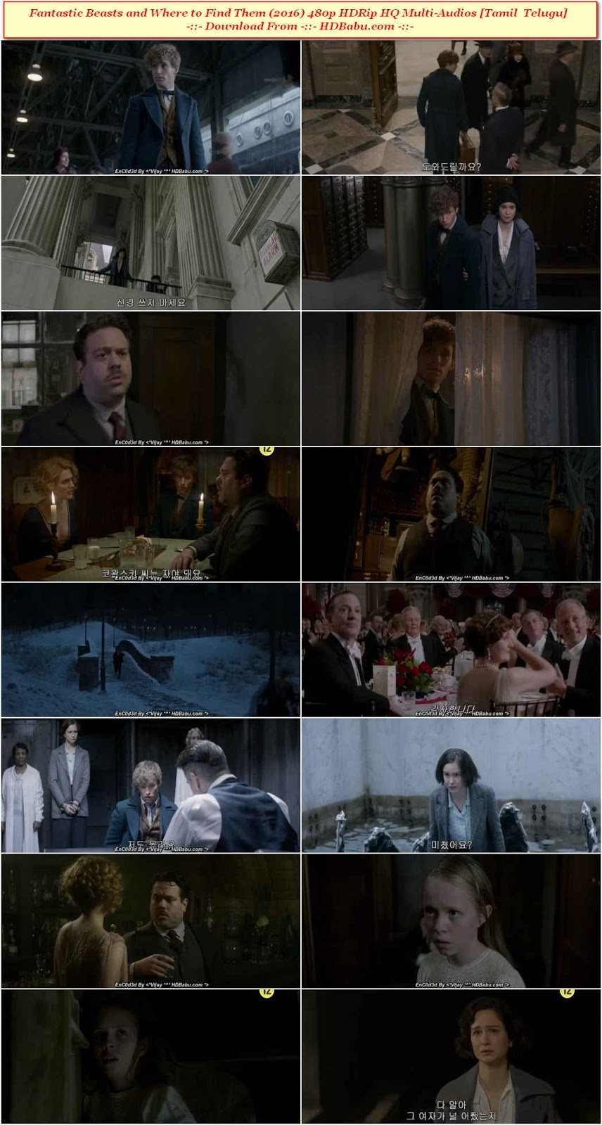 Fantastic Beasts and Where to Find Them Movie Download