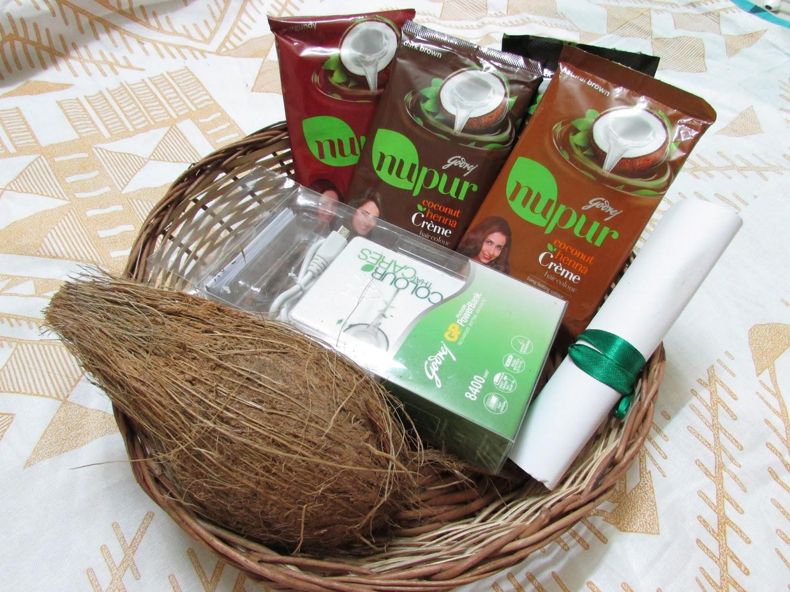 Godrej Nupur Coconut Henna Creme Hair Color Review