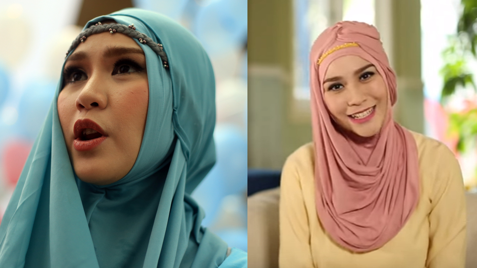 Tutorial Hijab Simple Trendy Segi Empat Ala Zaskia Adya Meca 2016