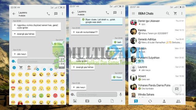 Aplikasi BBM Mod iOS Light v9 Terbaru Base Versi 2.13.1.14 Apk For Android