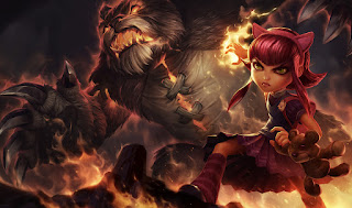 Updated Classic Annie Splash Art