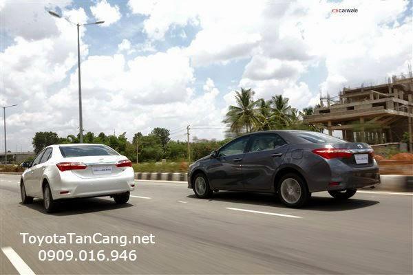 toyota corolla altis 2015 toyota tan cang 14 - Trải nghiệm Toyota Corolla Altis 2015: Tin cậy đến từng chi tiết - Muaxegiatot.vn