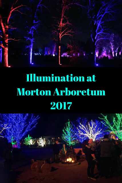 Celebrate the holiday season at the 2017 Illumination at Mortobn Arboretum in Lisle, Illinois