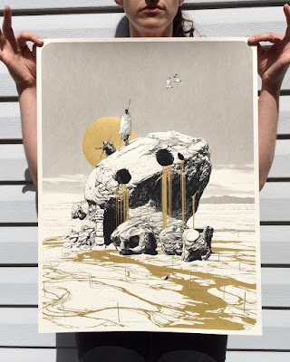 MondoCon 2016 Exclusive AQL Screen Print Series by Matthew Woodson