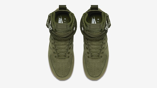 Nike Special Field Air Force One cabedal verde