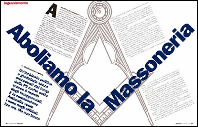 Italian Government Attempting Anti-Masonic Actions...Again