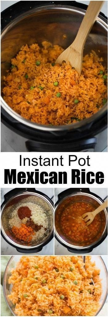 Instant Pot Authentic Mexican Rice