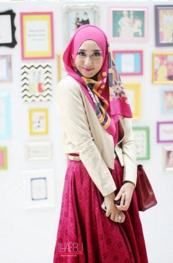 10 Contoh Model Hijab Ala Dian Pelangi Terbaru 2019