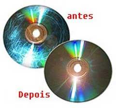 Como recuperar CD / DVD danificados