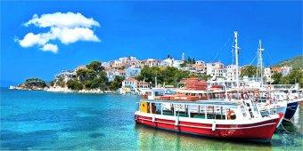 Come raggiungere l'isola di Skopelos