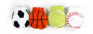 A Set of Sockballs - Hours of Fun