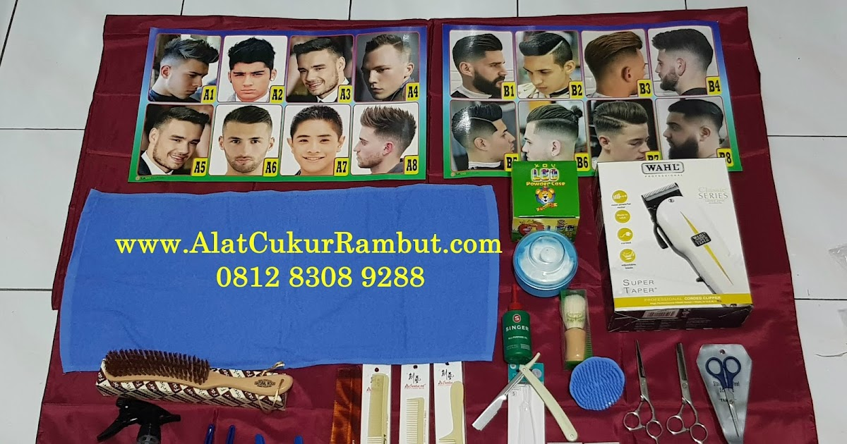 Menjual Paket Untuk Usaha Pangkas Rambut