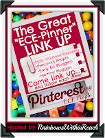 "photo of: The GREAT ""ECE Pinners"" LinkUP hosted by: RainbowsWithinReach"