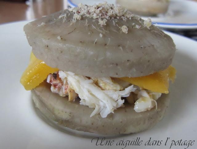 Ouest-burger artichaut-crabe Gérard Boscher