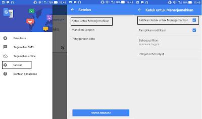 instant translation google translate di smartphone