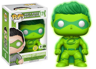 Emerald City Comicon 2017 Exclusive Emerald City Crusador Glow in the Dark Pop! Vinyl Figure by Funko