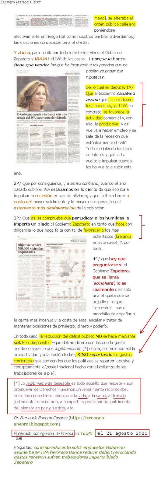 Peso-Press.- Noticias comentadas: noviembre 2011