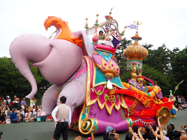 Aladdin float, Tokyo Disneyland, Japan